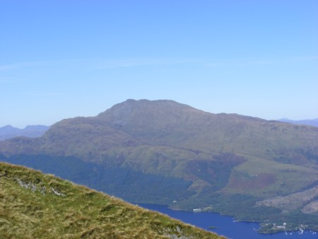 Ben Lomond from the ascent
