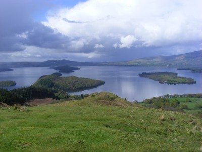 Loch Lomond from Conic Hill path