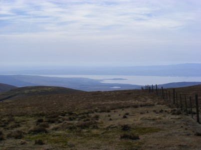 Looking towards the Clyde Estuary