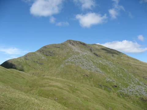 The summit from the Ptarmigan Ridge