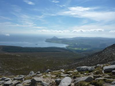 Brodick Bay from Goat Fell