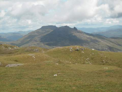 The Cobbler with Beinn Narnain