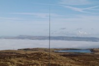 A blanket of cloud over the Clyde valley