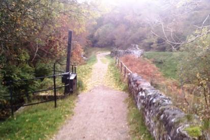 Autumn Colours on Greenock Cut