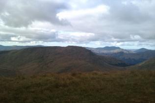 Beinn a'Mhanaich and Cowal Hills