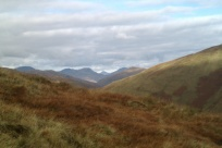 Beinn Ime in the distance
