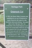 Greenock Cut Heritage Path Start (Cornalees)