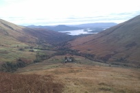 Looking down Glen Luss