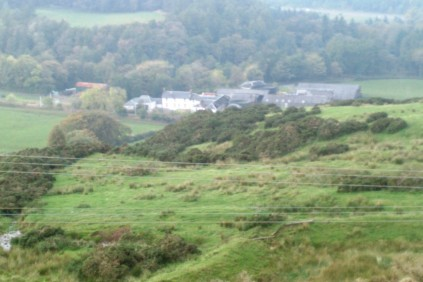 Looking toward Dunrod Farm