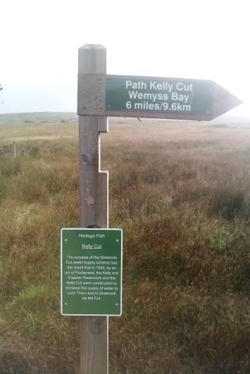 Start of Kelly Cut path