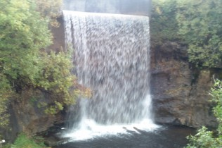 Waterfall at Cornalees
