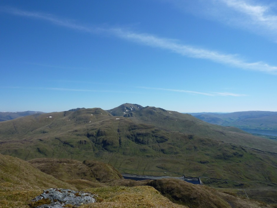 Ben Lawers from Meall Nan Tarmachan