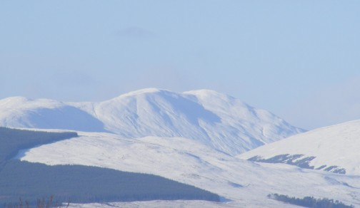 Beinn a'Mhanaich one week later