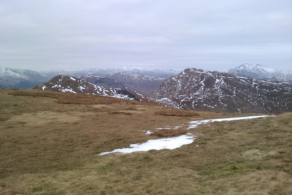 Doune Hill with Cruach an T-Sidhein to the left