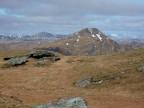 Beinn an Lochain with left Beinn Bhuidhe and right Ben Oss