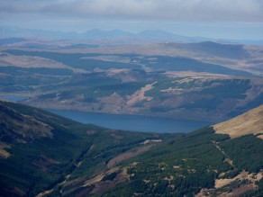 Loch Fyne with Ben More on Mull in the background