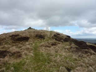 A white Trig Point