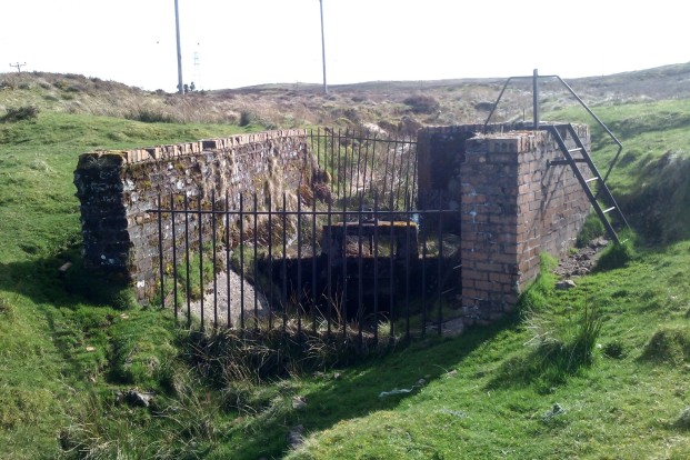 Old water control on moor