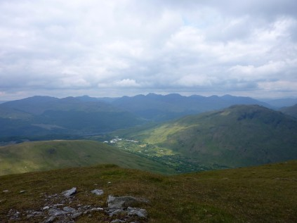 Arrochar Alps amongst others from Doune Hill