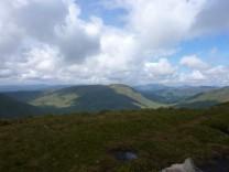 Beinn a'Mhanaich from Eich summit