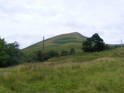 Beinn Eich from Glen Luss