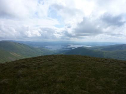 Looking towards Loch Lomond from Eich