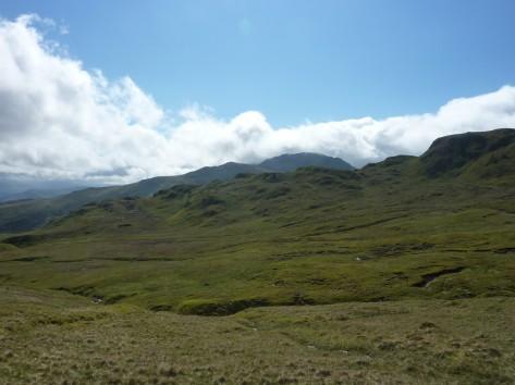 Meall Nan Tarmachan ridge