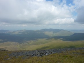Blencathra and nearby fells