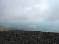 Derwent Water and Keswick from summit