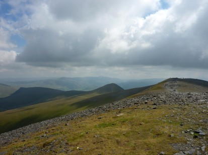 Looking towards the Helvellyn area