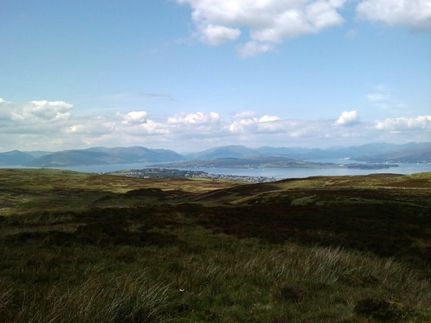 Roseneath peninsula and the Cowal Tops