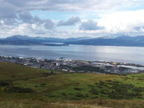 View to the Gareloch