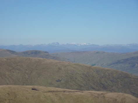 Ben Nevis from the Lawers Range