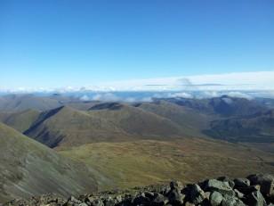Top of Glen Forsa