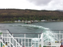 Leaving Craignure