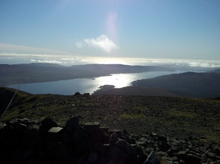 Looking towards Loch Scridain from Ben More