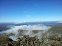 Mist rolls over Beinn Fhada