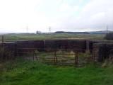 South facing gun emplacement