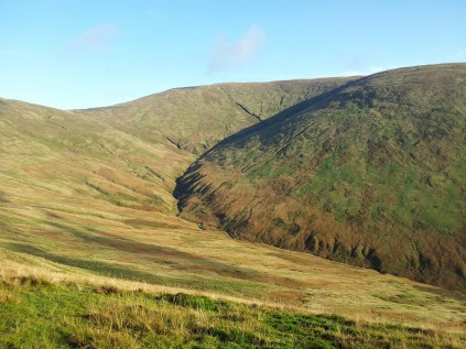 Looking towards Allt a'Bhaile a'Mhuilinn
