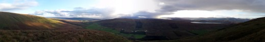 Panorama Glen Fruin