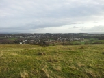 Kilmacolm from trig point
