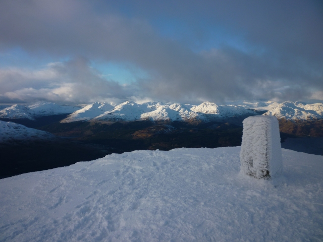 The summit of Ben Lomond © Iain MM3WJZ