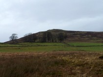 Corlic Hill From Dam Wall