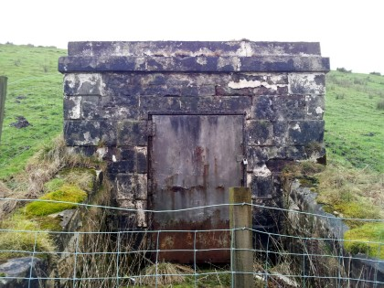 Old Pumphouse( may be an Air Shaft)