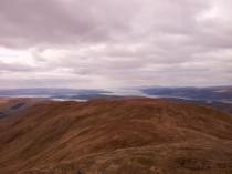Looking down the Firth of Clyde