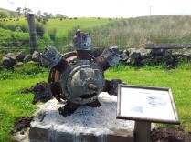 Avro Anson engine Greenock Cut Centre