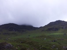 Beinn Narnain from ascent