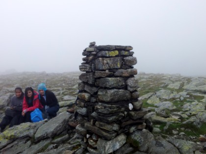 Beinn Narnain Trig point