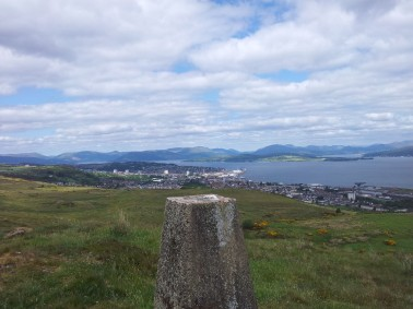 Greenock and trig point