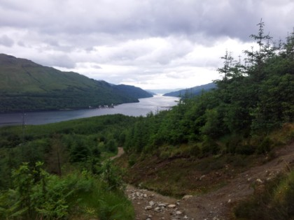 Looking down Loch Long